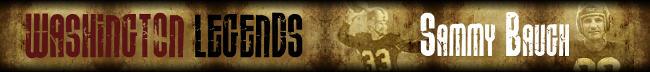 Sammy Baugh Legends Page