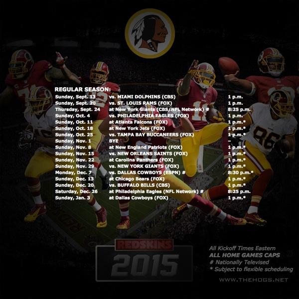 2015_Redskins_Schedule