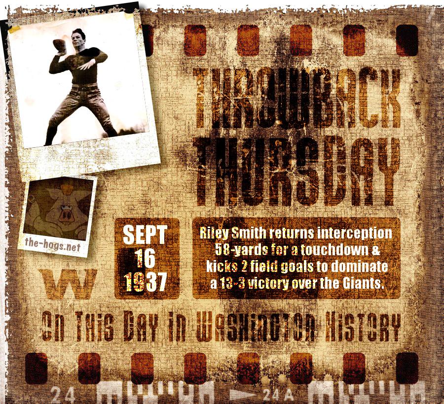 Throwback Thursday September 16th