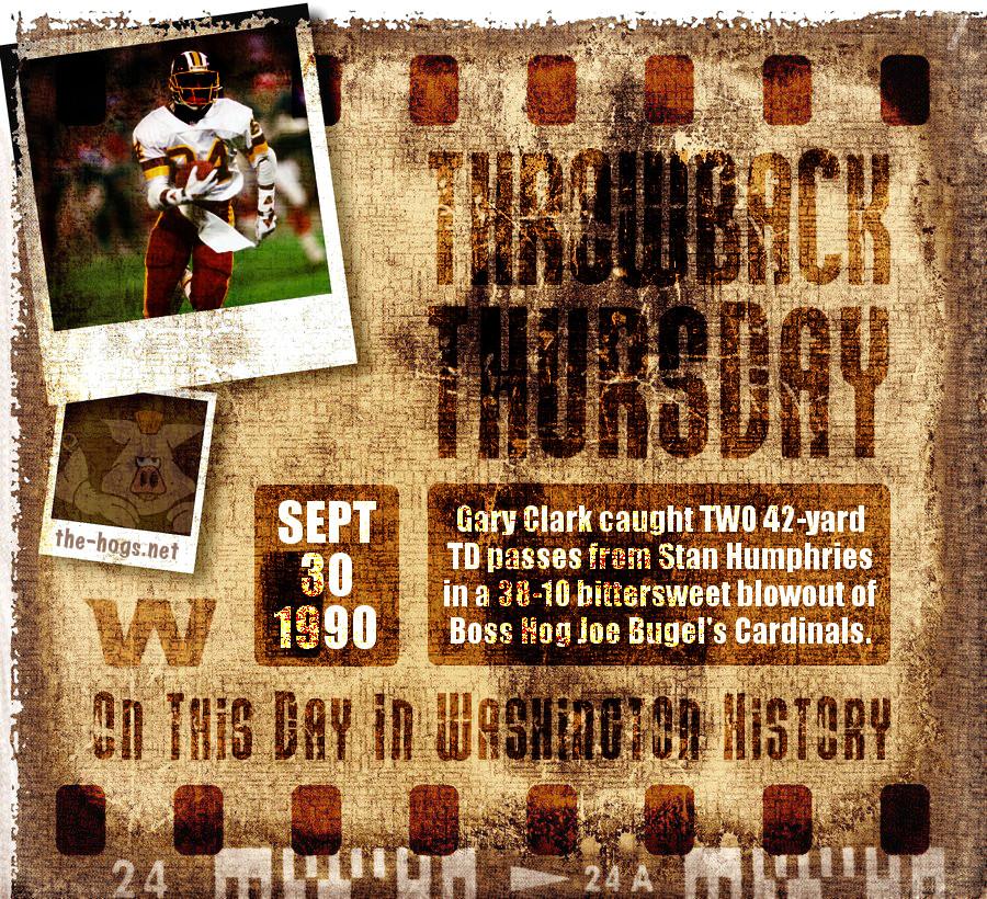 Throwback Thursday September 30th