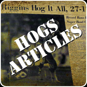 Articles on The Hogs
