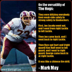 Mark May quote