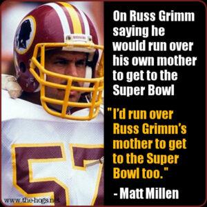 Matt Millen quote